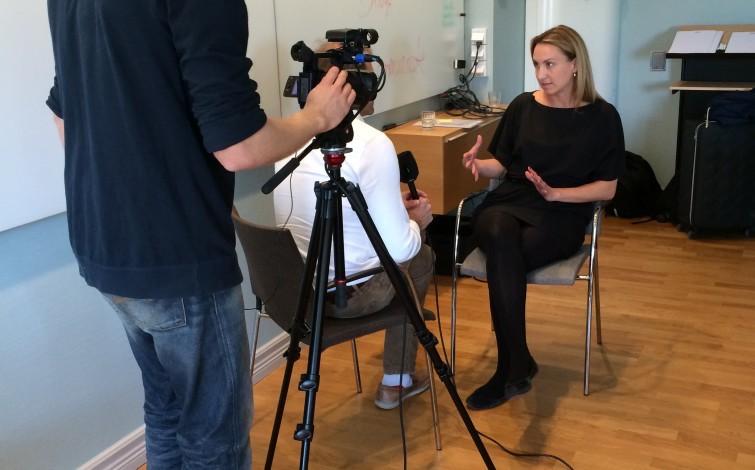 Träna inför intervjuer - med medietränare - Pelle Thörnberg